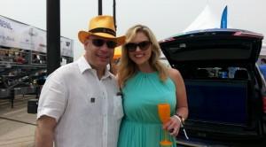 AShore Thing 2015.Dan Uslan, President & Publisher of Michigan Avenue Magazine; Marissa Bailey, CBS 2 Chicago Anchor & Reporter